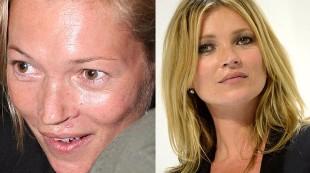 Celebrities, �con o sin maquillaje?