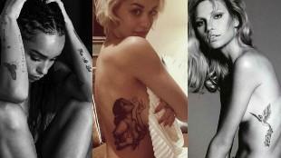 Los tatuajes m�s sexys de las famosas