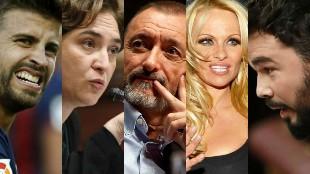 Los 'tuits' más polémicos sobre la independencia de Cataluña
