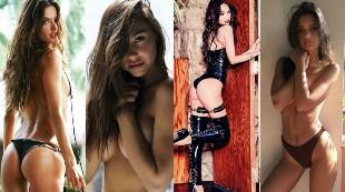 Las fotos más sensuales que nos dejaron las famosas el año pasado