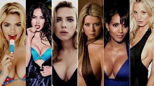 El cine ensalzó los pechos de las actrices más sexys de Hollywood