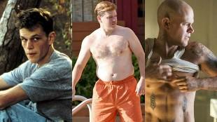 Los cambios físicos más espectaculares del cine