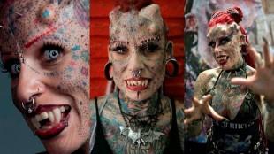 Las increíbles imágenes de las personas con más tatuajes del mundo