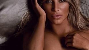 Kim Kardashian y su desnudo frontal más explícito