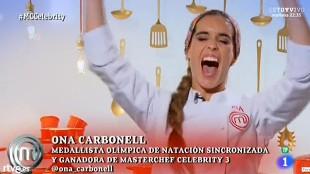 """Ona Carbonell gana 'MasterChef': """"Mis valores deportivos han sido básicos"""""""