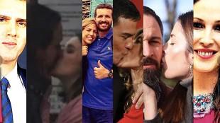 Hay vida más allá de la política: las parejas de los líderes españoles
