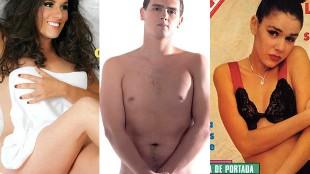 Albert Rivera y otros políticos al desnudo