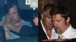 Ben Affleck, Brad Pitt y otros 17 famosos que tocaron fondo por su adicción al alcohol