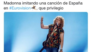 La reacción de Jordi Évole y otros memes de la actuación de Madonna en Eurovisión