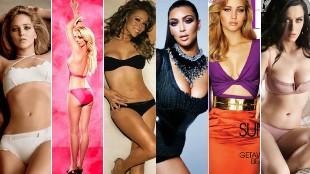 Increíble: el antes y el después del 'Photoshop' de las famosas