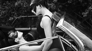 Irina Shayk y Adriana Lima protagonizan la sesión 'sado' más sensual para Vogue