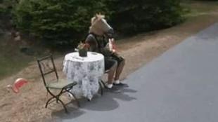 ¡No te lo creerás! La imagen más surrealista vista en Google Maps