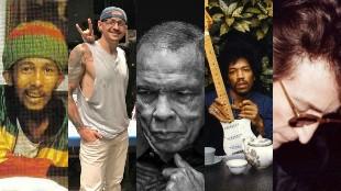 Las últimas fotografías de los famosos antes de morir