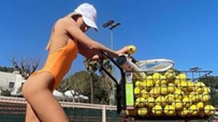 La instagramer Jessica Goicoechea trae la revolución estética al tenis