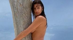 Irina Shayk sin censura, su posado mas atrevido en la playa con tacones...