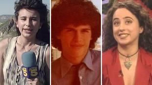 Nuevas fotos: Así han cambiado los presentadores de televisión desde sus inicios