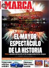 9-8-2008 El mejor análisis y una amplia cobertura en tu Diario MARCA