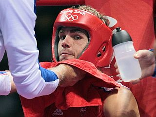 Billy Joe Saunders, en un combate (Foto: AFP)