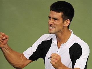 Djokovic celebra el bronce