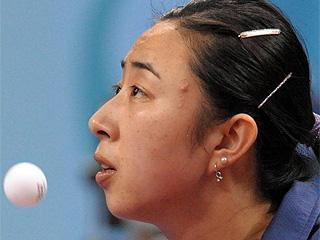 La espa�ola Yanfei Shen, en acci�n (Foto: AFP)