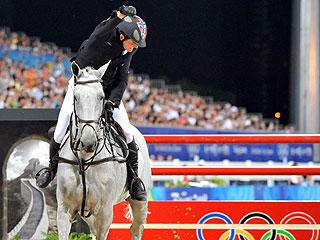 Hansen celebra su bronce (AFP)