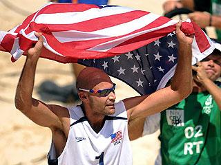 Estados Unidos festejó por todo lo alto el triunfo (AFP)