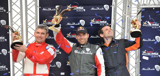 El podio de Abu Dhabi