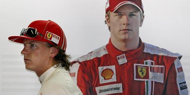 AFP. Raikkonen se ol�a desde hace tiemop que dejar�a Ferrari