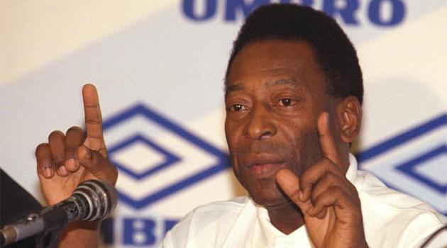 Pelé, en una imagen de archivo. Foto: MARCA