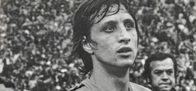 Johan Cruyff, en un partido con la selección holandesa. FOTO: MARCA.