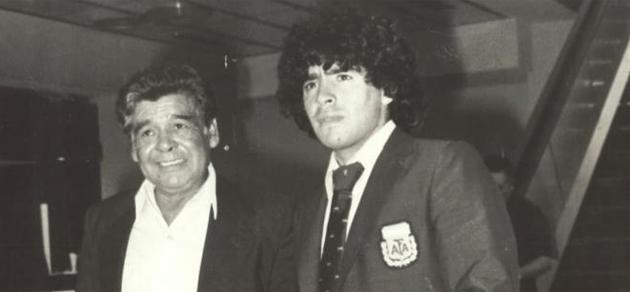 Maradona en una fotografía antes del Mundial de 1982. FOTO: MARCA.