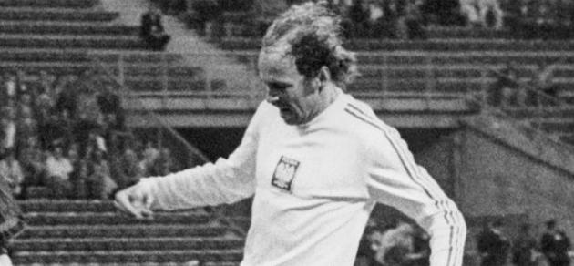 Lato, durante un partido con la selecci�n de Polonia. FOTO: MARCA.