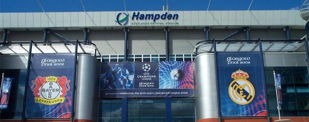 Hampden Park, estadio donde se disput� la final de la Champions 01/02. FOTO: MARCA
