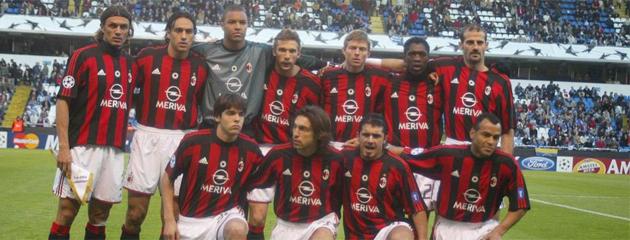 Este es el once del Milan que jug� en Riazor. FOTO: MARCA