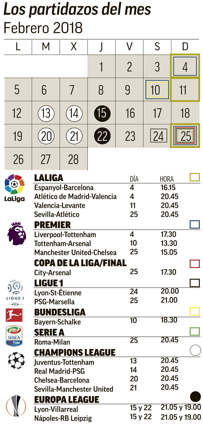Calendario Ligue.Football The Matches No Football Fan Will Want To Miss This