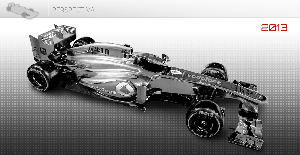 Vista en perspectiva del MP4-28