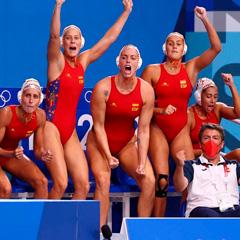 Equipo femenino de waterpolo