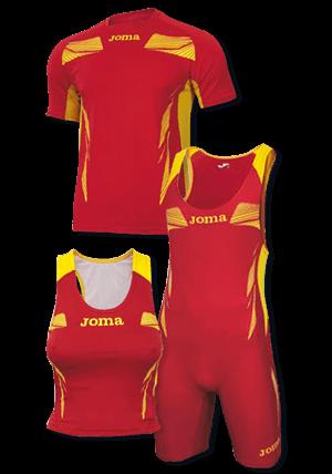 Atletismo: camisetas
