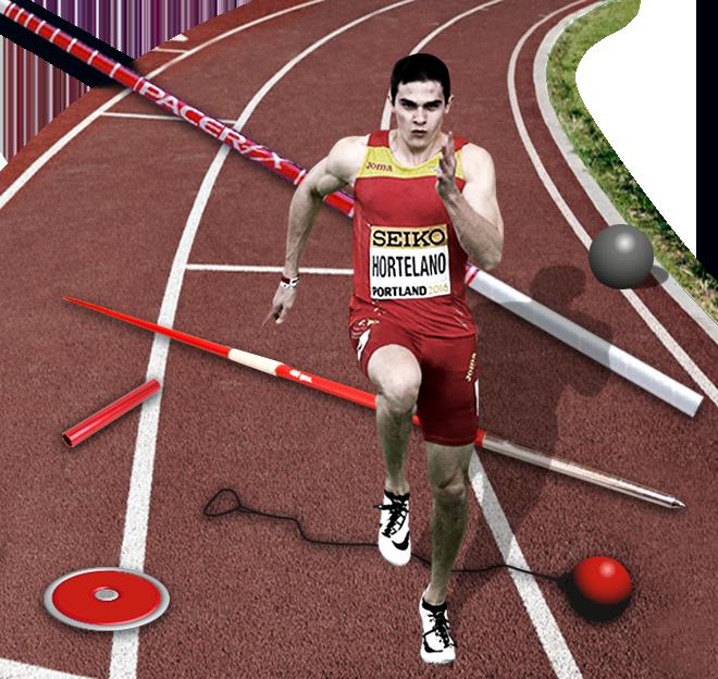 Equipamiento del atletismo