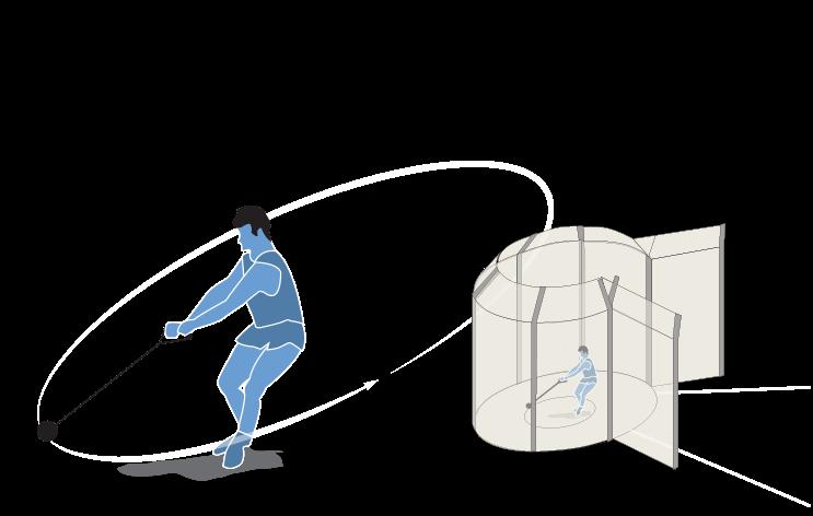Atletismo: lanzamiento de martillo