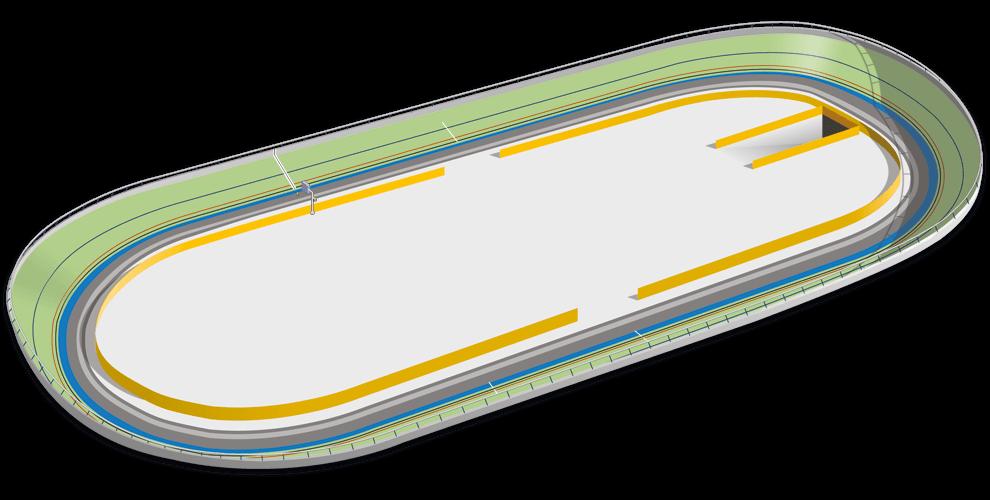 Velódromo de ciclismo en pista