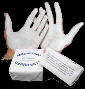 Halterofilia. Magnesio