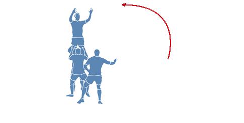 Torreta en rugby