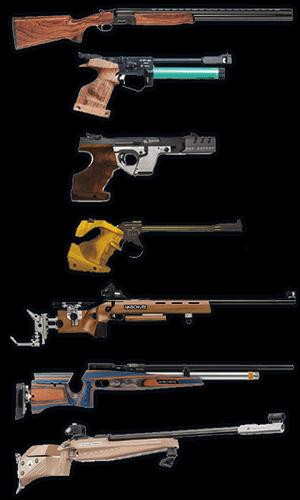 Armas de Tiro olímpico