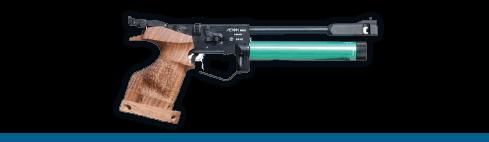 Pistola de aire 10m.