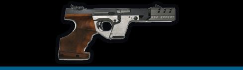 Pistola rápida de fuego 25 m.