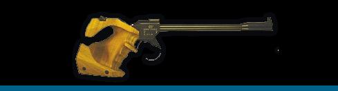 Pistola de tiro de 50 m.