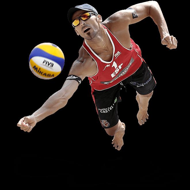 Jugador de Voley playa