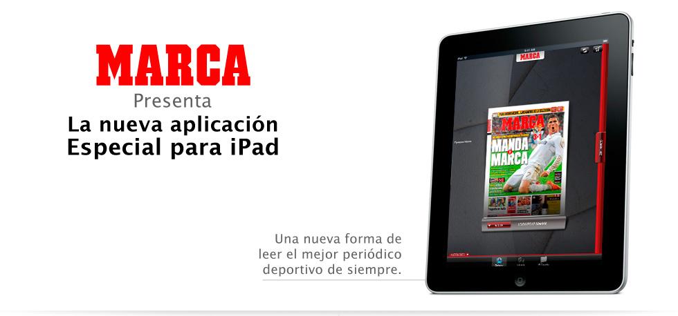 App IPad MARCA