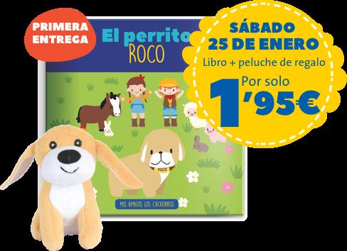 domingo 26 de enero libro + peluche de regalo por solo 1,95 euros